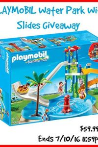 Playmobil Water Park Giveaway