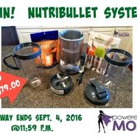 NutriBullet System Giveaway