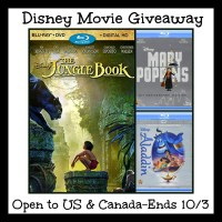 Disney Movie Giveaway