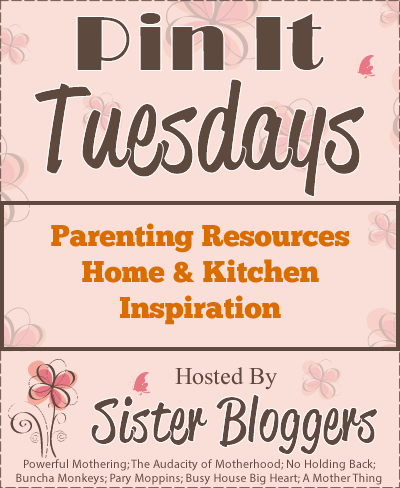 Pin It hosted by Sister Bloggers