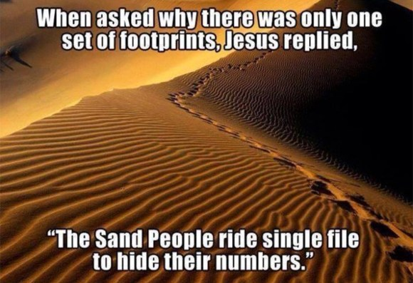 Jesus on Sand People copy