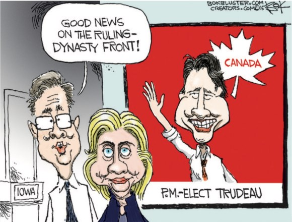 Trudeau Bush Clinton copy