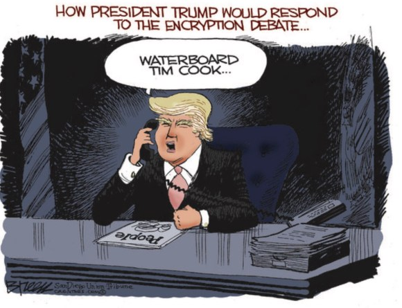 trump Waterboards Cook