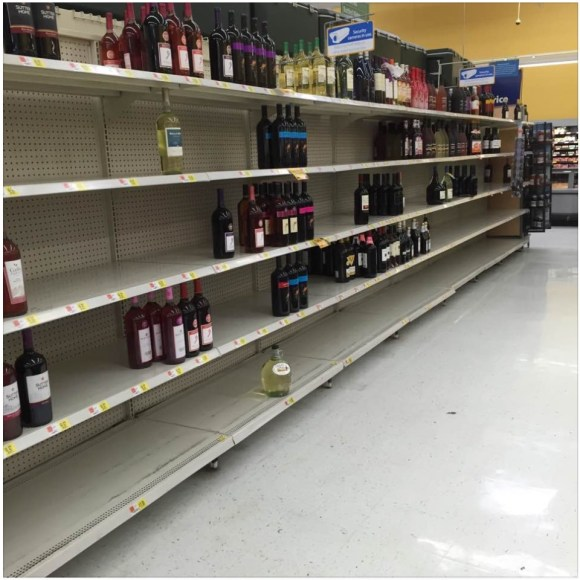 This is why laws against panic buying and hoarding during hurricanes are necessary.