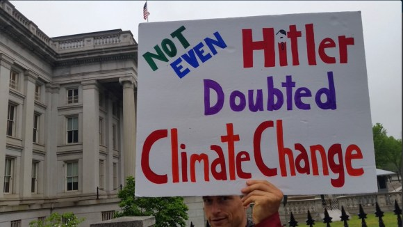 'March for Science' invokes God, Hitler, Gay Marriage, Racism, Sexism – Blames GOP for making climate worse