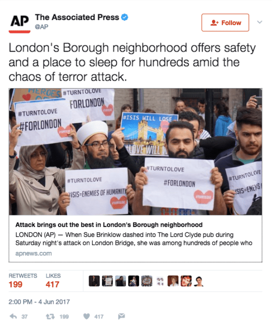 CNN Responds To Claims They Staged A Muslim Anti-Terror Protest