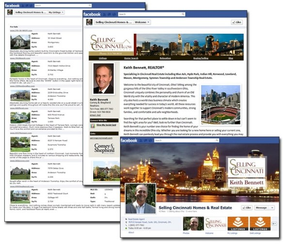 AgencyLogic Real Estate Facebook Business Page
