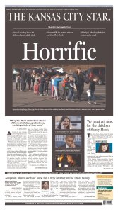 Front page appears courtesy of the Newseum.