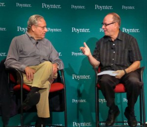 Bob Woodward and Roy Peter Clark