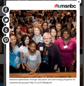 One of the photos MSNBC featured.