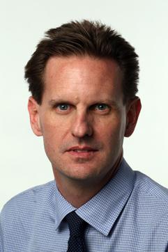 Washington Post National Editor Scott Wilson. (Photo by James M. Thresher)