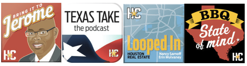 The Houston Chronicle has four podcasts so far.