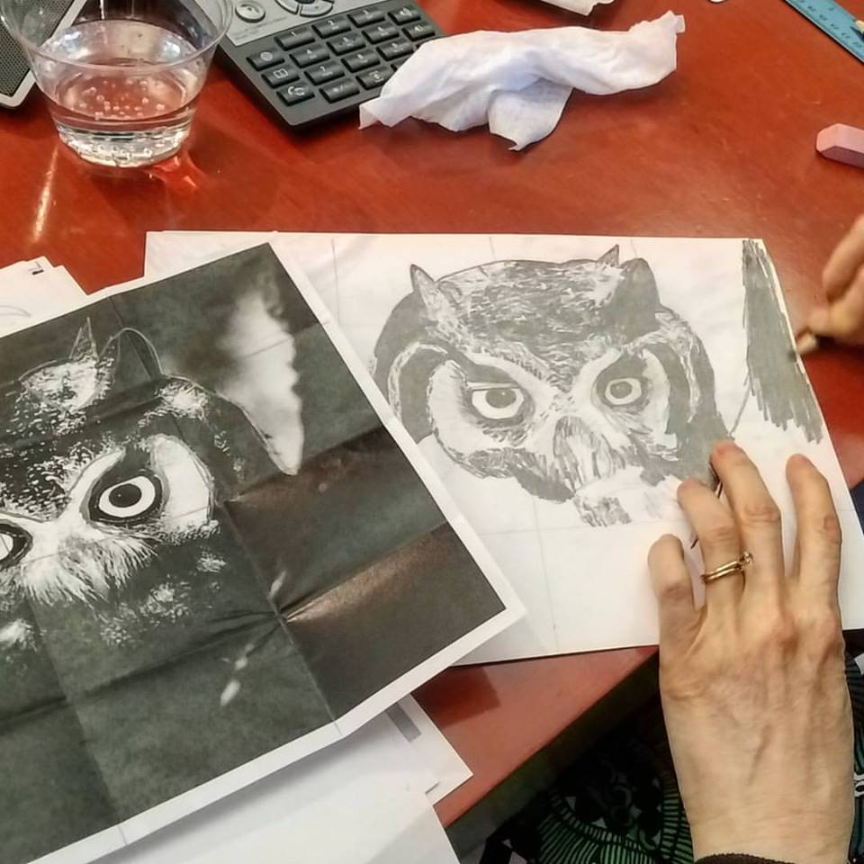 An owl by Janet Roberts, a data editor at Thomson Reuters. (Submitted photo)