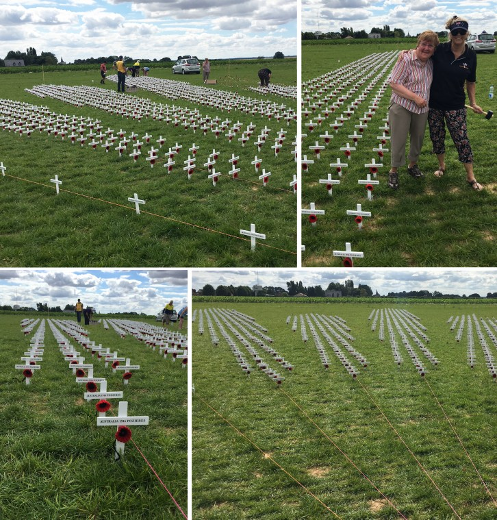 Crosses in the ground 2