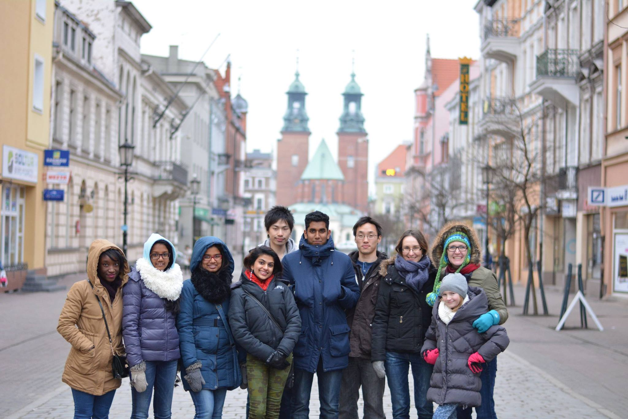 group photo members of Poznan International Church