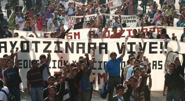 MÉXICO: LA VIOLENCIA DEL ESTADO CONTRA LOS ESTUDIANTES DE AYOTZINAPA.