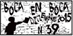 Revista BoCa En BoCa #39 *diciembre 2015*