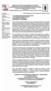 CNTE Chiapas