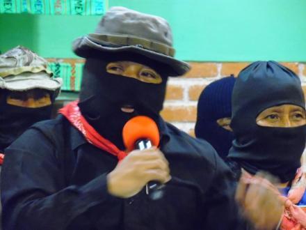 Chiapas México: Entrevista al Subcomandante Moises, vocero del EZLN.