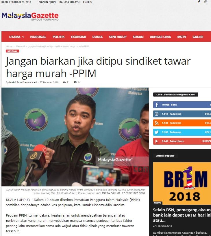 malaysia gazette