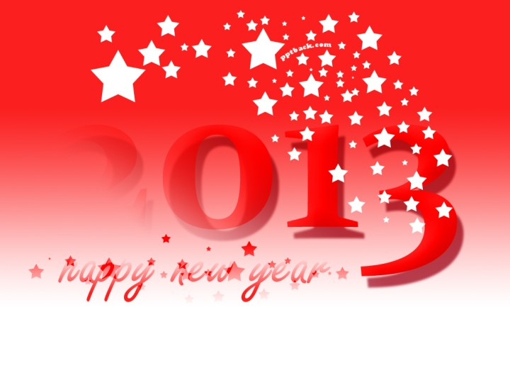 Happy New Year 2013 Backgrounds For PowerPoint Presentations. 1024 x 768.Happy New Year Graphics Free Download