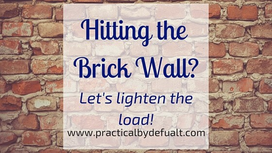 Moms, Are you hitting the brick wall? Sharing tips to help you cope!