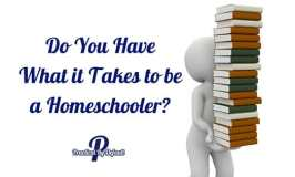 Do You Have What it Takes to be a Homeschooler?