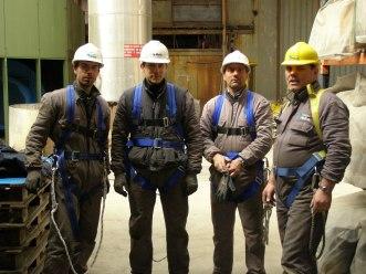 Alcuni nostri tecnici al lavoro