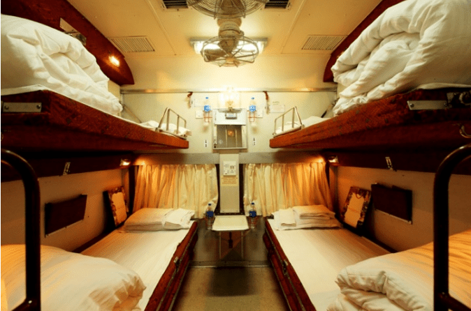 Tiger Express Train Sleeping Coaches