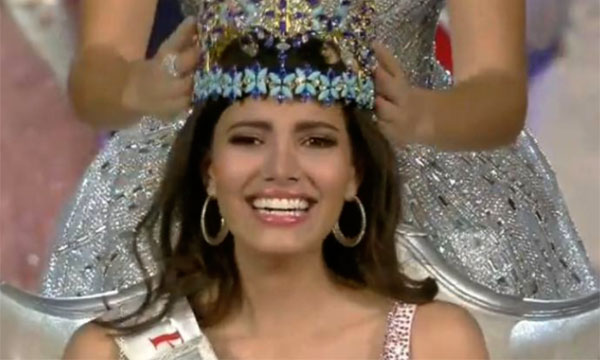 Puerto Rico's Stephanie Del Valle Bags is Miss World 2016 Winner