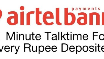 Airtel Payments Bank 7.25% Interest On Savings A/C