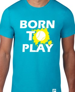 Born to play albastru Model