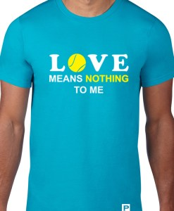 Love means nothing blue model