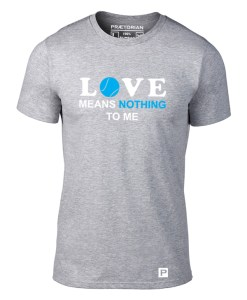 Tricou Love means nothing gri solo