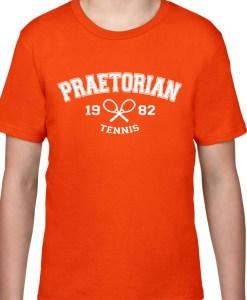 Tricou copii, Praetorian Tennis portocaliu