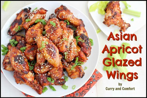 Asian Apricot Glazed Wings 1