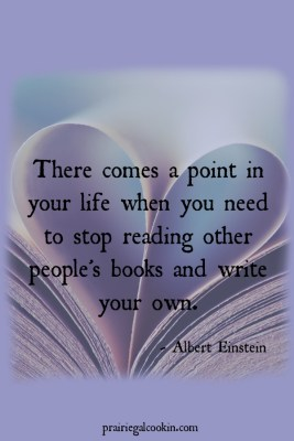 writing books write reading einstein quote