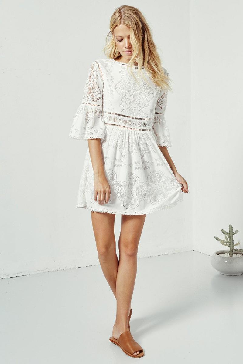 Fullsize Of Little White Dress