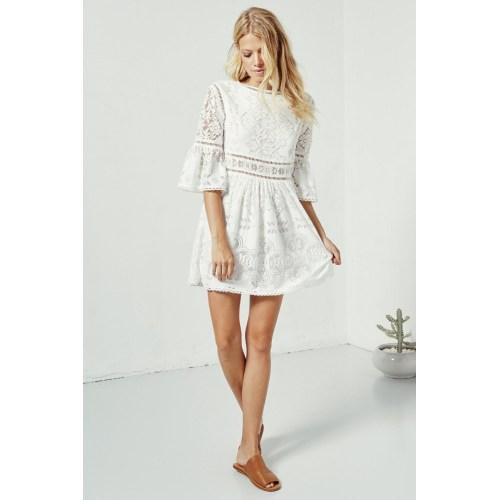 Medium Crop Of Little White Dress