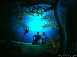 love in night