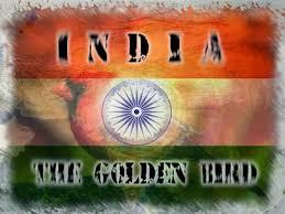 India as golden bird