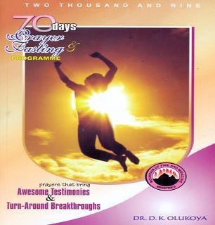 70 Days Prayer and Fasting MFM Program 2009