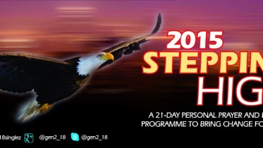 STEPPING HIGH 2015 MFM SINGLES 21-DAY PRAYER AND FASTING