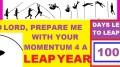 LEAP YEAR 2016 Timeline Prayers - LORD PREPARE ME