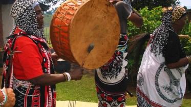 symbolizing ancestral powers of Zulu land