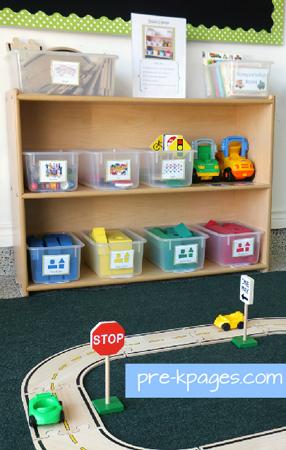 Preschool Block Center Pre K Kindergarten Pre K Pages