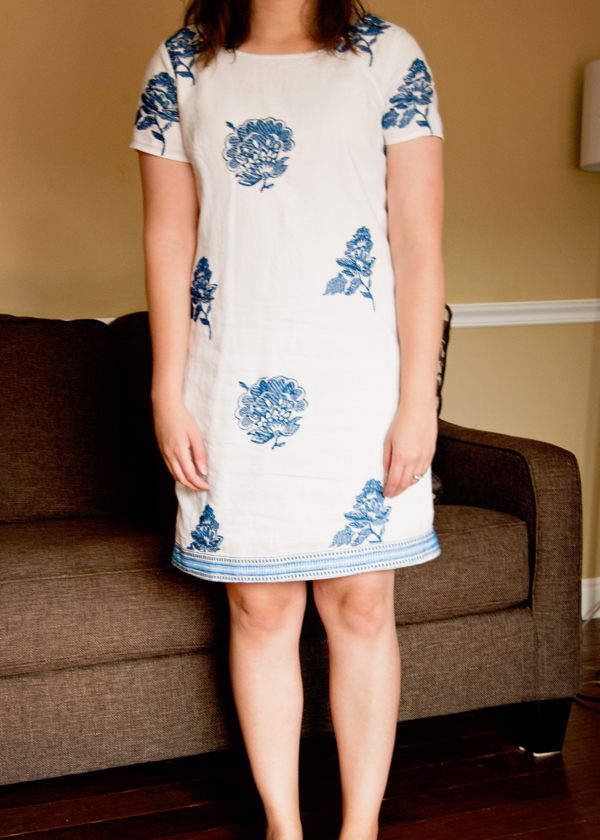 How to Lengthen a Dress 4