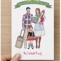 Custom Illustrated Holiday Cards | Preciously Paired