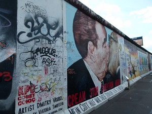 East Side Gallery - o muro de Berlim