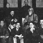 Tagore u poseti Cingua univerzitetu u Kini